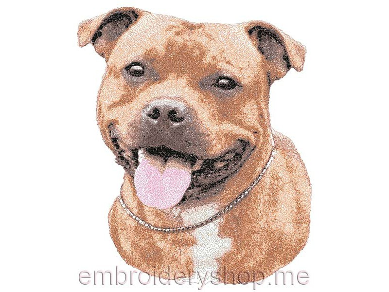 Staffordshire Bull Terrier Designs And Fonts For