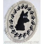 "Placemat ""Scottish Terrier"""