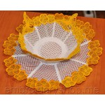 Niceness Bowl and Doilies Set _fsl0022