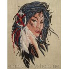 Red Indian Girl