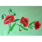 Poppies flw0077_large hoop