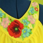 Summer floral ornament for the neck flw0102