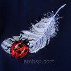Ladybug and Feather int0009