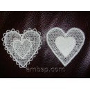 Lace hearts fsl0042 (2 designs)