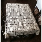 "Lace Tablecloth ""Tea with Milk"" fsl0051"